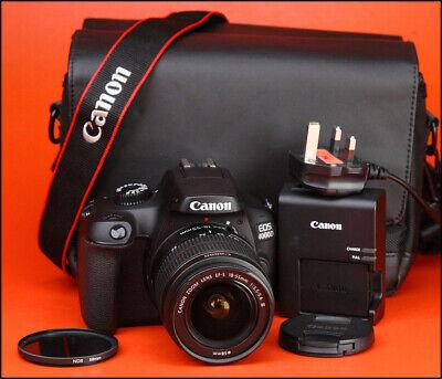 Canon EOS 4000D DSLR Camera +18-55mm III Lens Kit -1080p HD & WiFi - 571 Shots