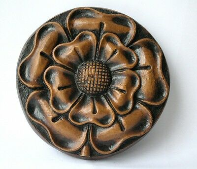 English Tudor Rose Medieval Reproduction Oak Church Carving Unique Gift Ludlow