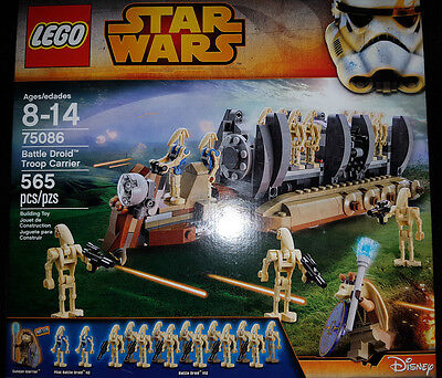 Lego Star Wars Battle Droid Troop Carrier  75086  Brand New Factory Sealed