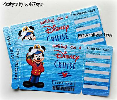 CRAFTECAFE WOLFFEY5  DISNEY CRUISE  paper piecing premade scrapbook page die cut
