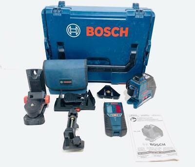 Bosch Laser Level GLL3-80 Professional + BM1 Holder + LR2 Receiver