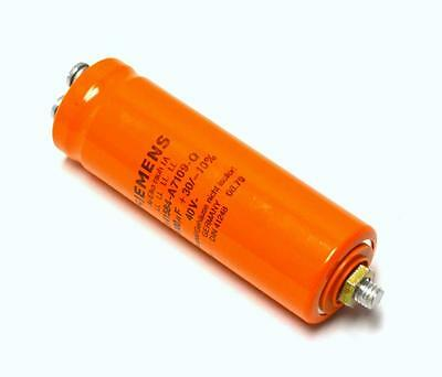Siemens B41584-a7109-q Capacitor 10000 Uf 40 Volts