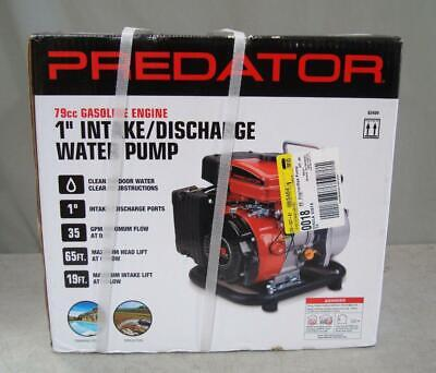 New In Box Predator 1'' 79cc Gasoline Engine Discharge Water Pump 35 GPM for sale  Shipping to South Africa