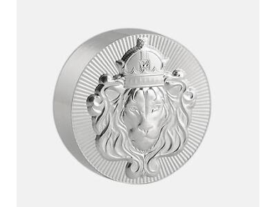 1 x 2 oz .999 Silver STACKER ROUND by Scottsdale Mint 2 oz .999 Silver #A374