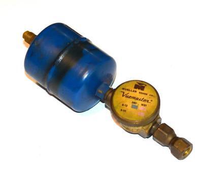 Alco Adk-052 Dri-kleaner Refrigerant Filter Drier W Mueller Vuemaster Indicator