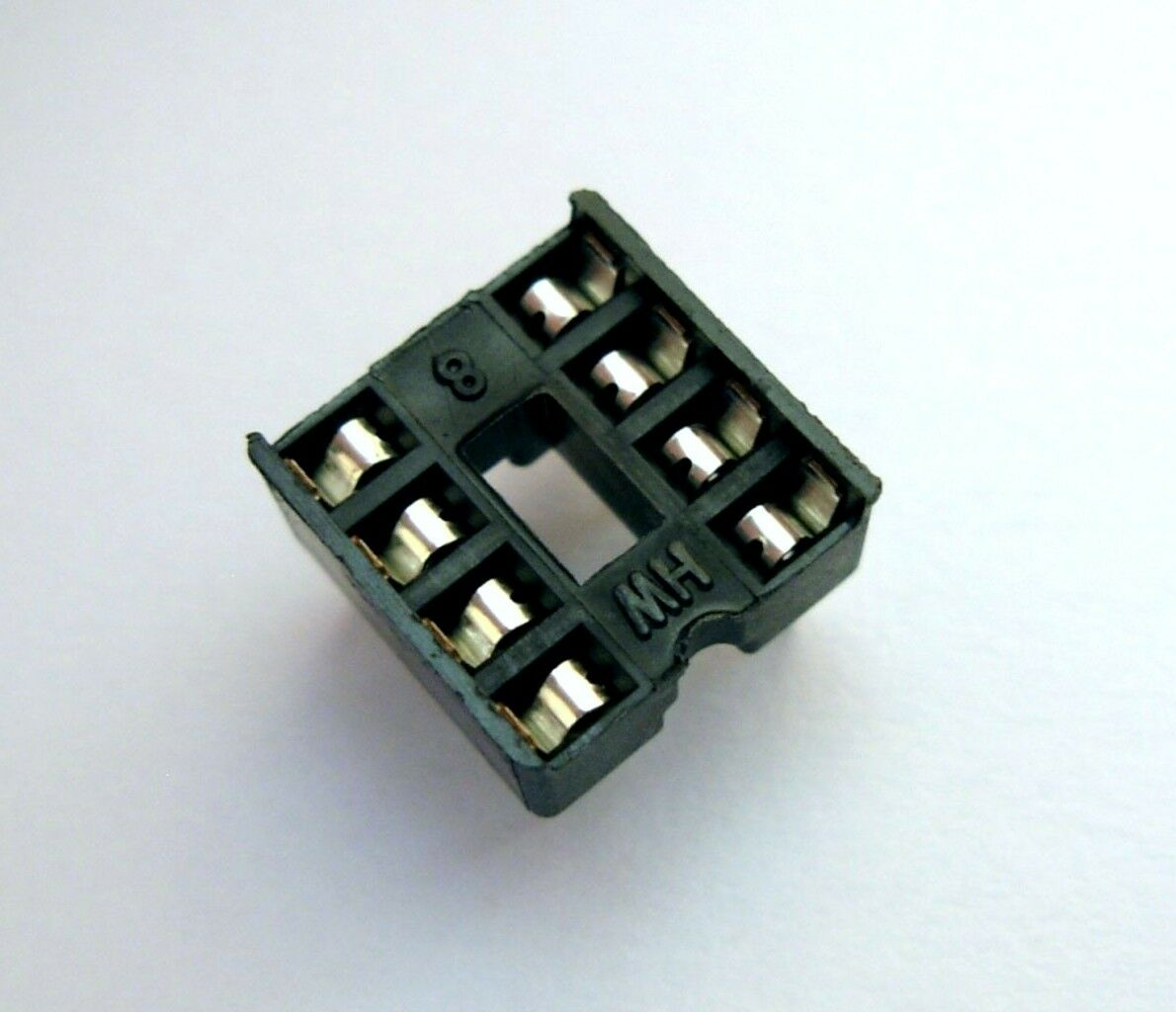 Support socket pour circuit intégré 8 broches DIP 8 pins support for IC