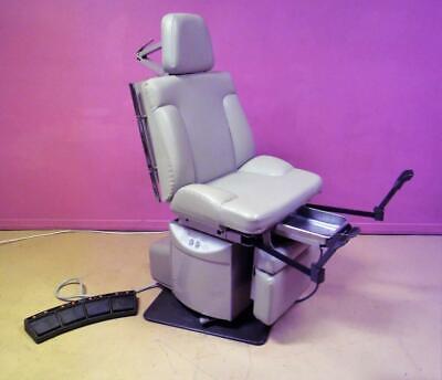 Ritter Midmark 311 Electric Power Exam Table Examination Procedure Chair Stirrup