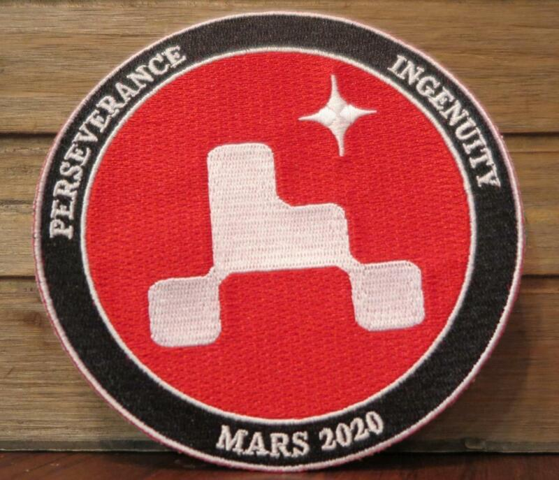 MARS 2020 PERSERVERANCE INGENUITY SPACE PATCH FREE SHIPPING TO U.S.