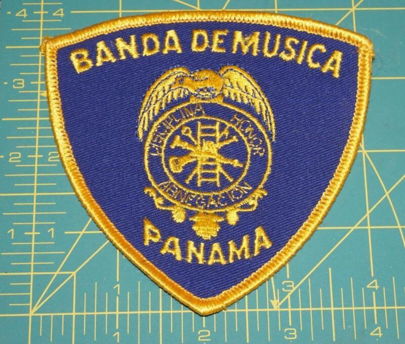 BANDA DE MUSICA PANAMA PATCH