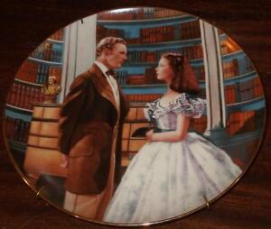 A Declaration of Love - Gone With The Wind Series Collector's Plate 84-G20-41.3