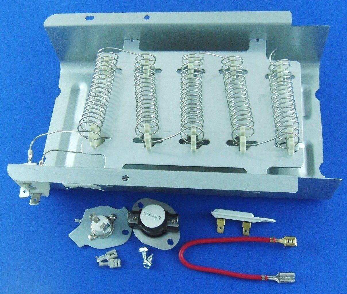 Dryer Heating Element 279838 & Fuse  279816, 3392519 Whirpool,Kenmore Roper
