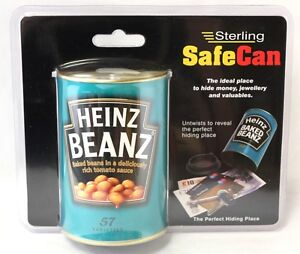HEINZ BAKED BEAN SAFE FAKE TIN CAN HIDING PLACE SECURITY CASH BOX HOME STORE UK