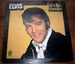 Elvis-Presley-Lets-Be-Friends-1975-PICKWICK-2408-Vinyl-LP-VG