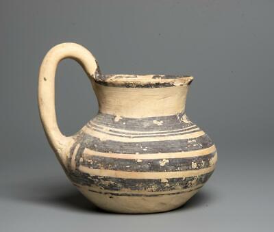Museum Quality ! Comes with COA !! Amazin Ancient Roman Small Glass Vase Circa 200-300 AD