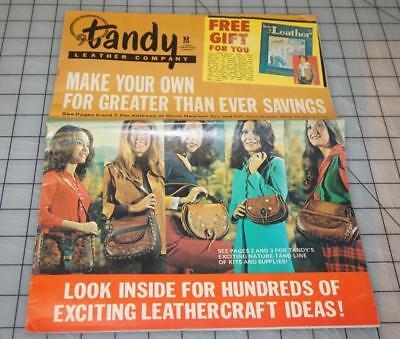 Vtg TANDY LEATHER Company Leathercraft Ideas Supplies Catalog (Catalog Party Ideas)