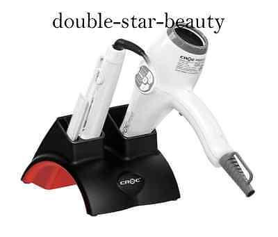 CROC Glamour G Station Heat Proof Dual Hair Dryer And Iron Holder Resistant Flat