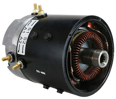 Club Car DS 36 / 48-Volt Golf Cart Speed Motor Replacement Fits Electric 1990-Up