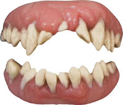 Morris Costumes Extremely Realistic Professional Quality Monster Teeth. DFTH401](Extreme Costumes)