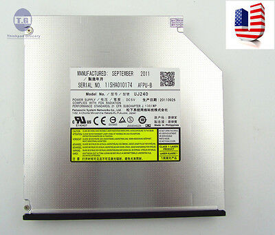 Panasonic Uj240 6x Blu-ray Bd Dvd Cd Rw Burner Player 12....