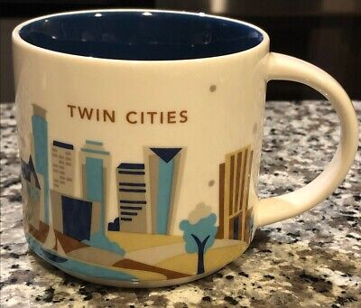 STARBUCKS TWIN CITIES CUP MUG – 2015 YOU ARE HERE COLLECTION