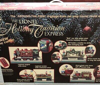 Vintage Lionel Holiday Tradition Express Train Set 7-11102 Christmas Music Rarew
