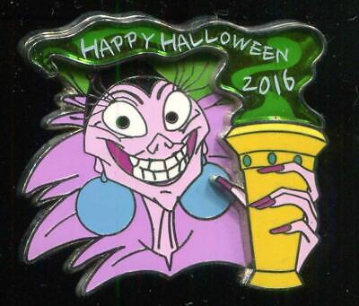 Disney Channel Happy Halloween (Happy Halloween 2016 Emperor's New Groove Yzma LE Disney Pin)