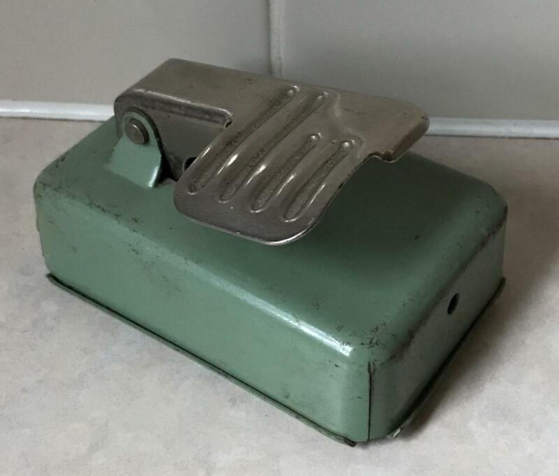 Genuine Singer 185/185k/185J/285/285J Sewing Machine Green Foot Controller Pedal