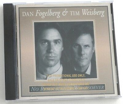 No Resemblance Whatsoever Dan Fogelberg & Tim Weisberg Promotional Cd