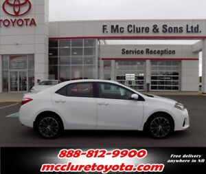 2016 Toyota Corolla SPORT Very Clean!!