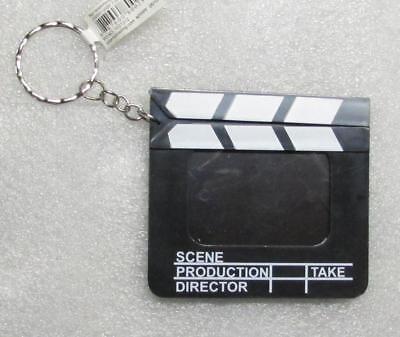 Directors Photo Movie FILM CLAPBOARD Pendent KEY CHAIN Ring Keychain NEW (Clapboard Keychain)