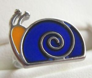 Child / Children's Stylish SNAIL Style MOOD RING -- Changes Colour NEW