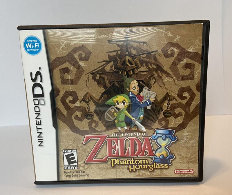The Legend of Zelda: Phantom Hourglass (DS, 2007) CASE ONLY No Game