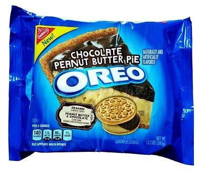 Neu Oreo Schokolade Erdnussbutter Pie Graham Aromatisiert Kekse Nabisco 361ml (Oreo-schokolade)