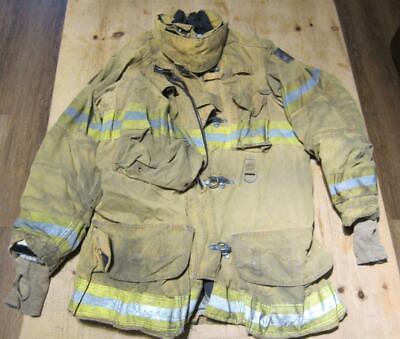 Lion Janesville Firefighter Fireman Turnout Gear Jacket Size 44.35.r - B Ll1