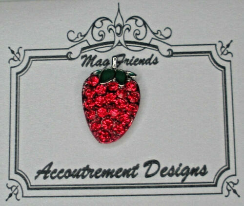 Needle Minder Magnet Strawberry Accoutrement Designs Cross Stitch