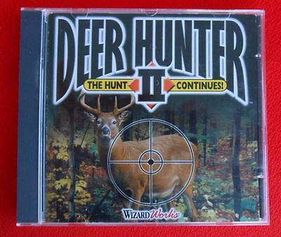 DEER HUNTER II 2 ~ CD-ROM PC Game ~ CD Disk ~ for Windows 95 or (Deer Hunter Ii)