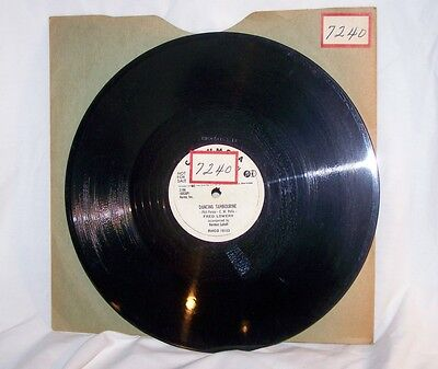 Fred Lowery Indian Love Call 78 RADIO DEMO RH4427 whist