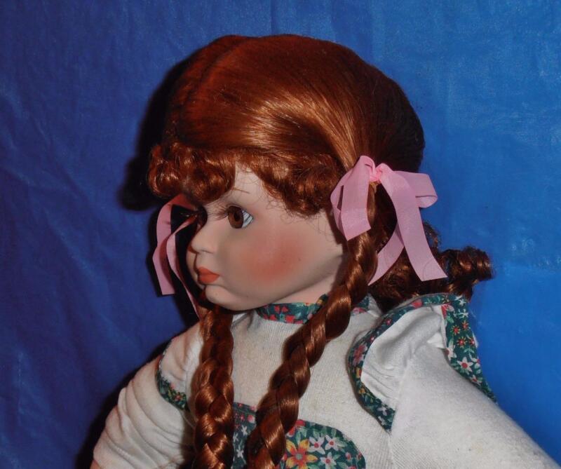 Design Debut, Vintage Porcelain Doll (  Haley  ) Limited Edition, COA