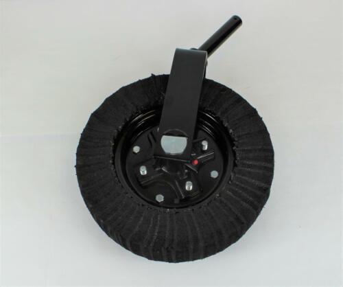 """Tail Wheel Assembly 15""""-1 1/4"""" Yoke– Cast Iron Hub- Bush Hog, Rhino, Land Pride"""
