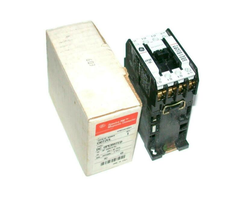 New General Electric  CR7ZCL  Motor Starter Relay 24 VDC 25 Amp