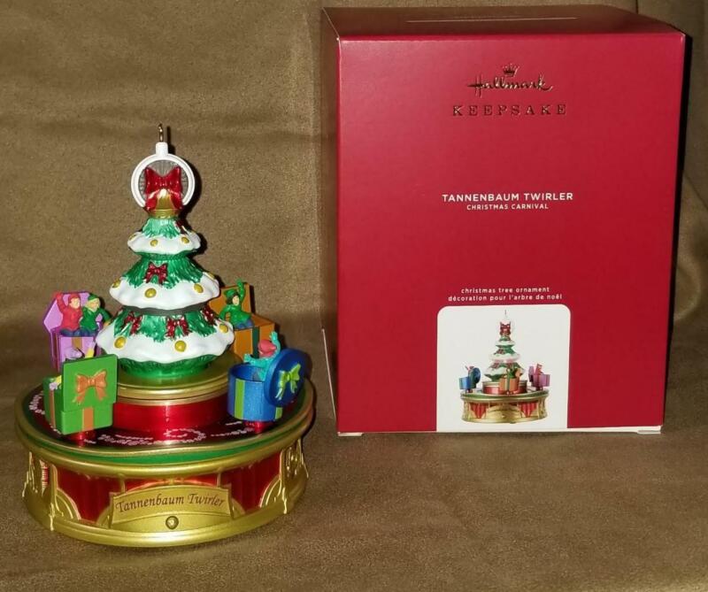 2020 Hallmark  Tannenbaum Twirler Christmas Carnival #3 Magic Light Motion Music