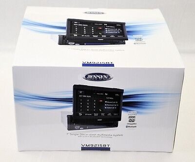 "Buy Jensen In-dash CD Players - Jensen Vm9215bt 7"" Single Din Touchscreen Dvd/cd/mp3 Receiver With Bluetooth"