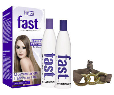 FAST Shampoo Conditioner Best for Hair Growth with Biotin Cysteine Proteins