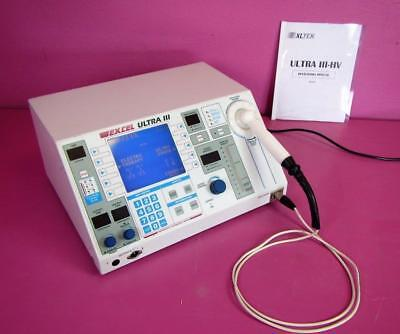 Excel Ex-ul3 Therapeutic Ultrasound Electrotherapy Center Ultra Iii With Probe
