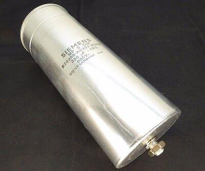Siemens B25355-a6337-k005  Capacitor 330uf 10 600v