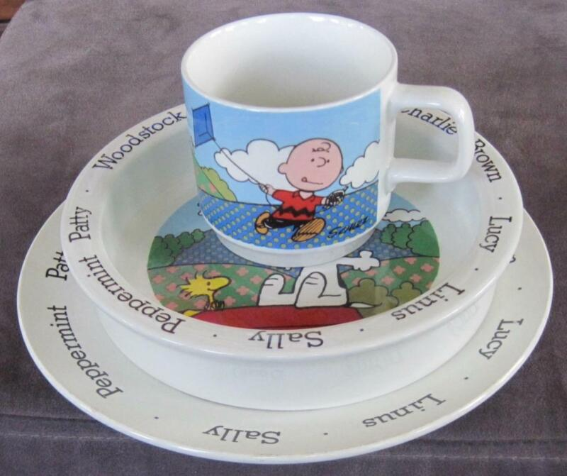 Johnson Brothers Charlie Brown Peanuts Child