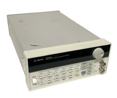 Agilent 33120a Function Arbitrary Waveform Generator 15 Mhz
