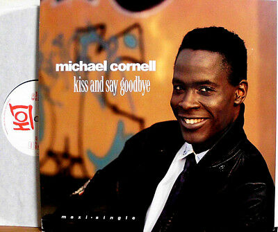 MICHAEL CORNELL KISS AND SAY GOODBYE LOOK OUT FOR THE BAD BOYS 12 MAXI