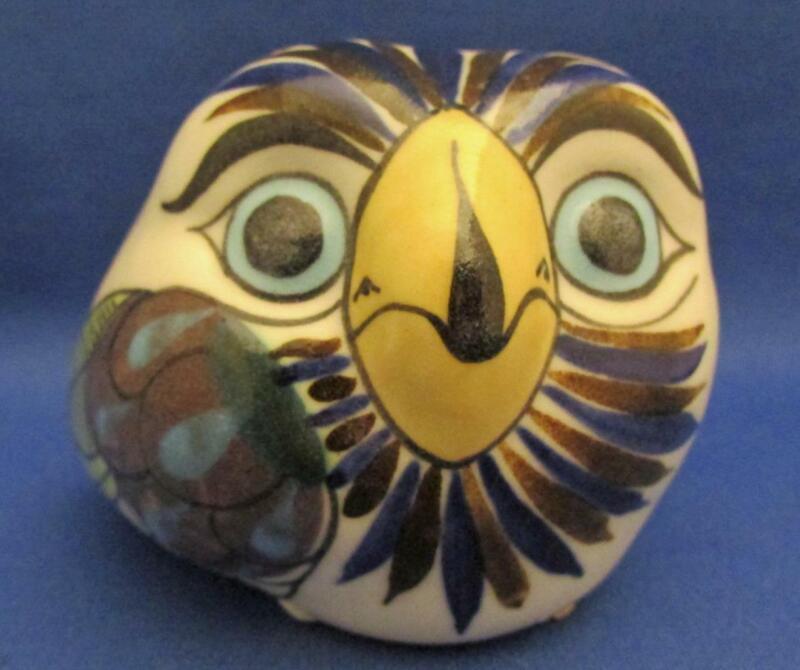 Guate Mayanke Pottery Owl Figurine - Guatemala Terosos
