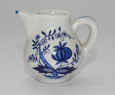 älteres Porzellan Milchkännchen Milchgiesser für  Puppenstube #F675